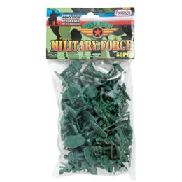 36 Bulk Military Force Soldiers - 50 Piece Set