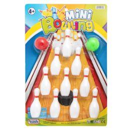 36 Bulk Mini Bowling Game - 12 Piece Set