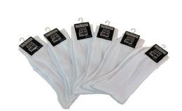 60 Bulk Men's Dress Sock Size 10-13 White Color Only