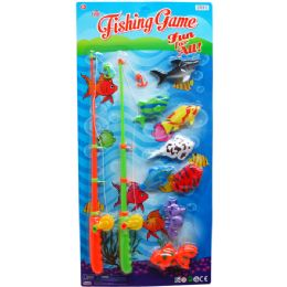 12 Bulk 8PC FISHING PLAY SET