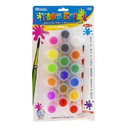 72 Bulk 18 Color Kids Paint Set