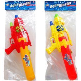 """12 Bulk 19"""" WATER GUN IN POLY BAG"""