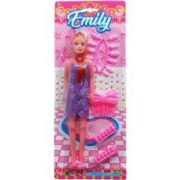 "36 Bulk 11"" EMILY DOLL W/ ACCSS"