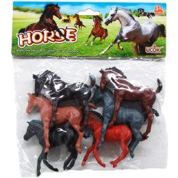 48 Bulk PLASTIC HORSES
