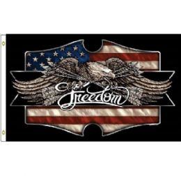 24 Bulk Freedom Eagle Flag