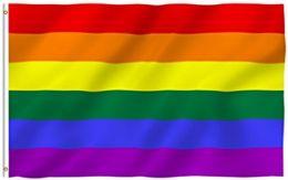 24 Bulk Rainbow Flag