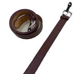 36 Bulk Belt Wide Brown Large Only