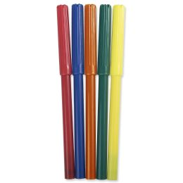 96 Bulk 5 Pack of Markers - Assorted Colors