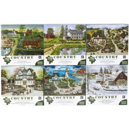 6 Bulk Puzzle 750pc Country 6 Titles Size 27x20 See n2
