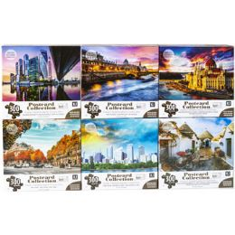 6 Bulk Puzzle 300pc Postcard Collection 6 Titles Size 24x18 See n2