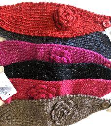 36 Bulk Fashion Knitted Headbands Assorted