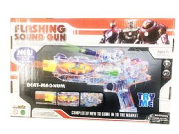 12 Bulk Toy Machine Gun With Lights And Sounds