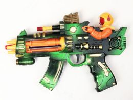 48 Bulk Toy Machine Gun with Lights And Sounds