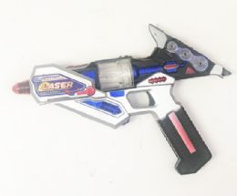 24 Bulk Machine Toy Gun With Lights And Sounds