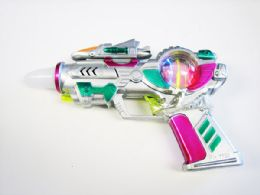 48 Bulk Toy Gun with Lights And Sounds