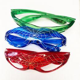 96 Bulk Kids Spider Glass Color Assorted