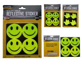96 Bulk 8pc Reflective Stickers
