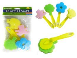 48 Bulk Craft Stamp W/Handles