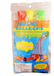 24 Bulk Fast Fill Balloons 111 Count