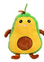 12 Bulk Reversible Plush Avocado