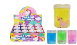 72 Bulk Slime With Toy Unicorn