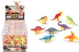 48 Bulk Toy Dinosaur 8 Piece