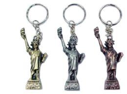 72 Bulk Statue Of Liberty Keychain