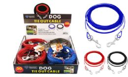 12 Bulk Dog Tie Out Cable