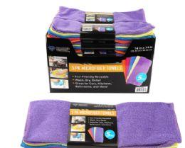 32 Bulk Microfiber Towels 5 Pack