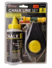 24 Bulk Chalk Line Set 3 Piece