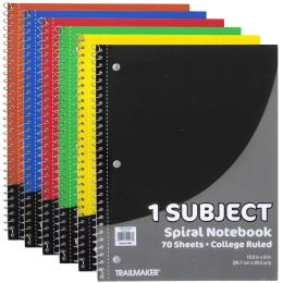 24 Bulk 1 Subject Notebook - College Ruled - 70 Sheets