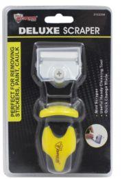 24 Bulk Scraper With Rubber Grip Handle
