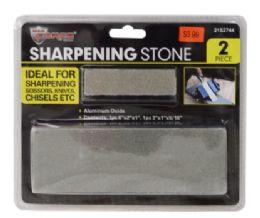 36 Bulk Sharpening Stones 2 Piece