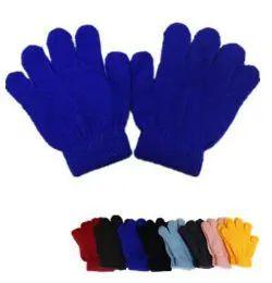 60 Bulk Kids Magic Gloves Assorted Colors