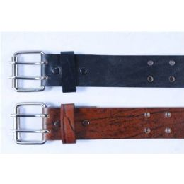 48 Bulk Mens Genuine Leather Belt