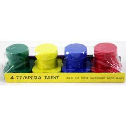 48 Bulk Assorted Color Tempera Paint