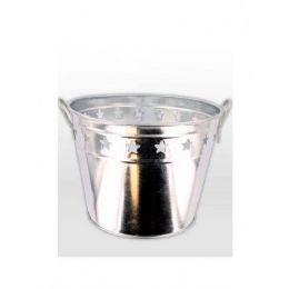 36 Bulk Tin Bucket With Stars