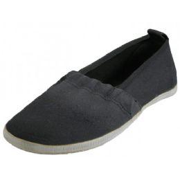 36 Bulk Girls' Elastic Shoes