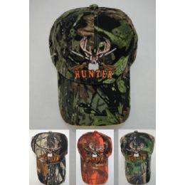 24 Bulk Camo Deer Hunter Hat