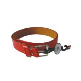 96 Bulk Women Belt Red Assorted Size