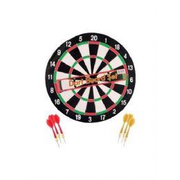 12 Bulk 14'' Dartboard W/ 6 Darts