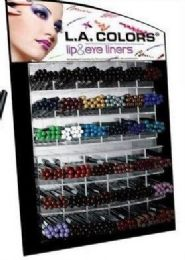432 Bulk La Colors Lip And Eye Liner With Dispaly
