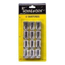 48 Bulk Sharpeners - Pencil - 12 Pack