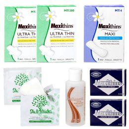 48 Bulk 8 Piece Feminine Hygiene Kits