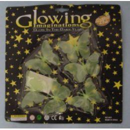 72 Bulk Glow In The Dark ButterflieS-Clear