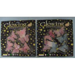 216 Bulk Glow In The Dark ButterflieS-Color