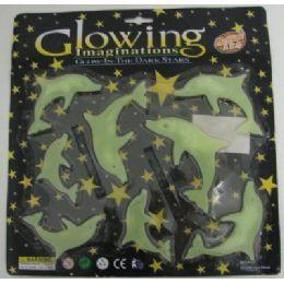 72 Bulk . Glow In The Dark DolphinS-Clear