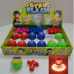 144 Bulk Gyro Flash Light & Sound Top