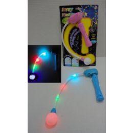 192 Bulk Light Up Hand Held Spinning Wand