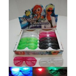 288 Bulk Light Up Window Shade Glasses